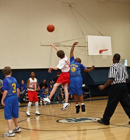 Basketball - Boys' Elementary vs Lorenzo Manor - Jan 17, 2009