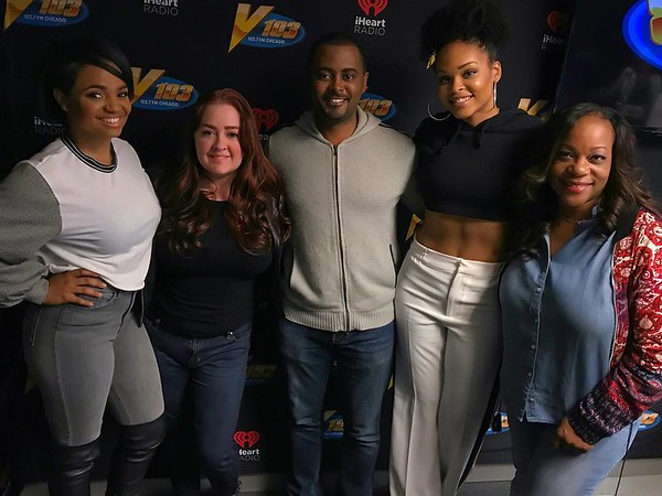 V103 - 102.7 FM Chicago - April 13, 2018