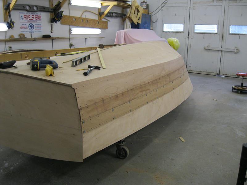 Third port plank fit.