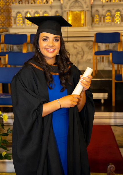 30/10/2019. Waterford Institute of Technology (WIT) Conferring Ceremonies is Mairead McSweeeny from Brandon . Picture: Patrick Browne