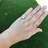 1.02ct Round Brilliant Diamond Bezel Ring 24