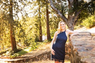 Carissa & Phillip engagement portrait