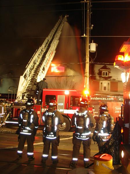 December 13, 2005 - 3rd Alarm - 128 Kingston Road