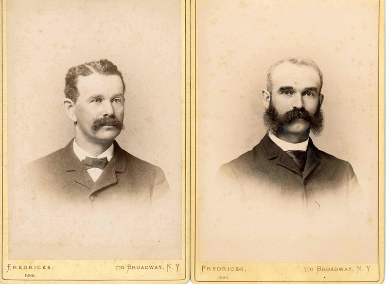 James and Edward Burnet in 1890