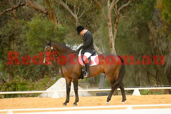 2014 10 18 Swan River Horse Trials Dressage EvA95