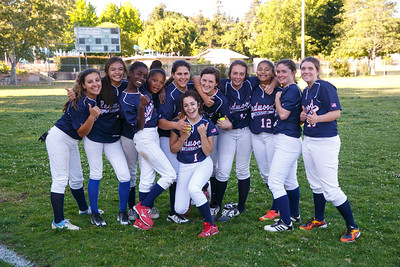 RCS Girls' Softball vs HR - May 26, 2015