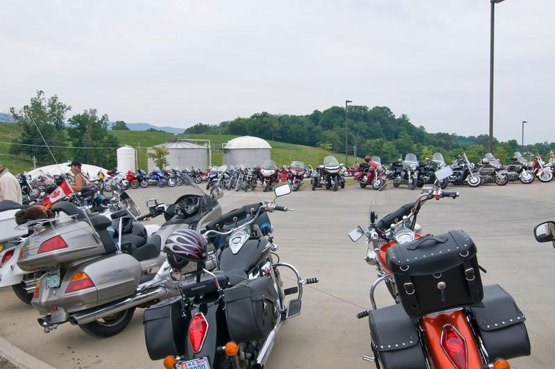 Bikes at Bush Bean tour