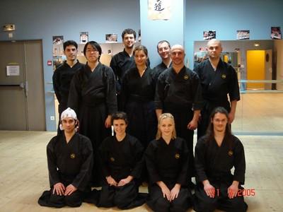 Paris TAIKAI2005 & Seminar