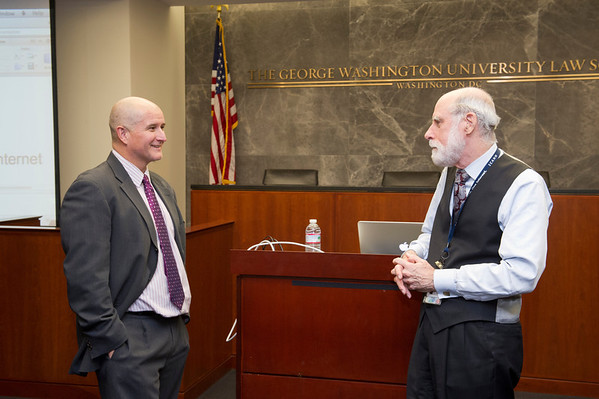 """Vint Cerf Discussion: """"The Internet in the 21st Century"""""""