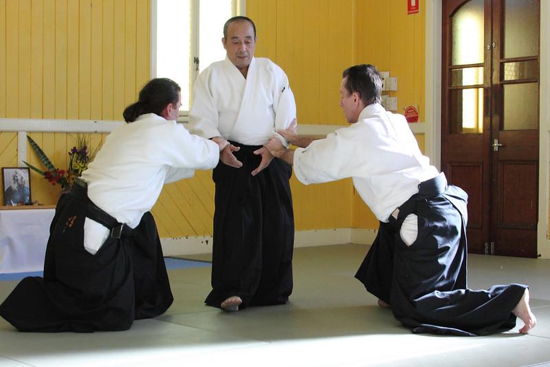 Shimamoto Shihan: Bayside Budokai (July 2009)
