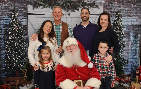 Stonebriar Country Club Santa Photos-12/8/19