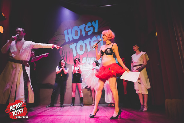 Hotsy Totsy Burlesque tribute to Star Wars