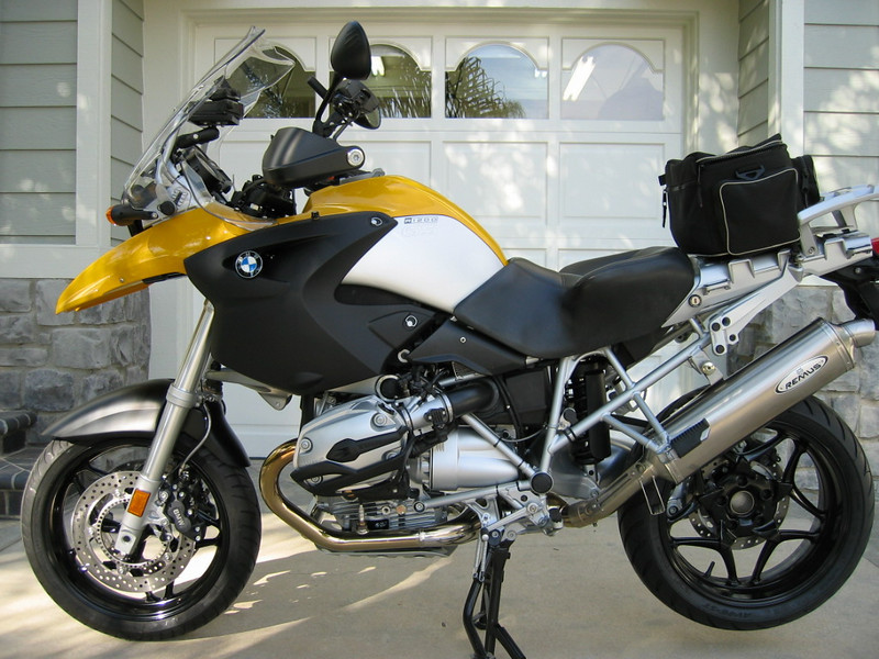 Marc Parnes' previous GS a modified 2007 R1200GS