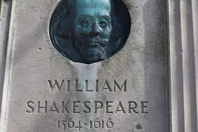Snowdrops in Shakespeare's Garden 3/16/10