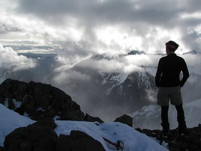 Spence Peak, 26-27 September 2009