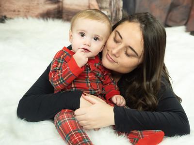 Peyton and Wyatt Christmas
