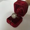 3.45ctw Antique Rose Cut Cluster Ring 32