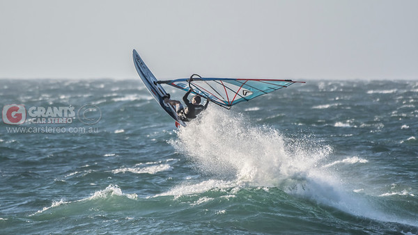 Windsurfing at North Beach 02/03/2018