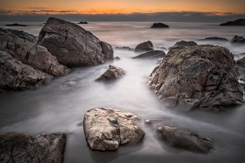 Rocks in Tide, Sea Ranch, California