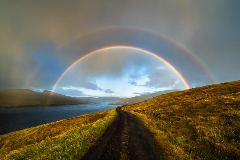 Vagar Rainbow Road Faroe Islands Landscape Photography.jpg