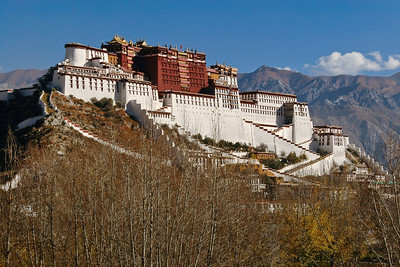 Potala Palace from Drubthub Nunnery, Lhasa