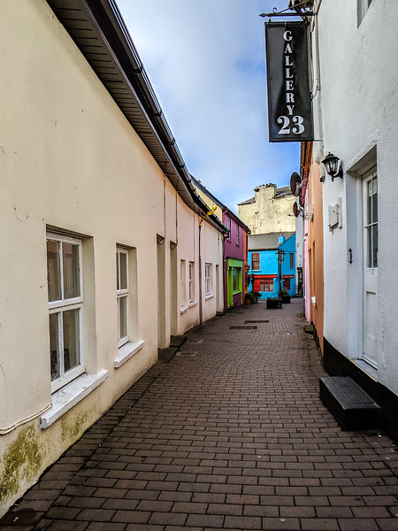 Little town of Kinsale, adorable.  Bright colored buildings everywhere.
