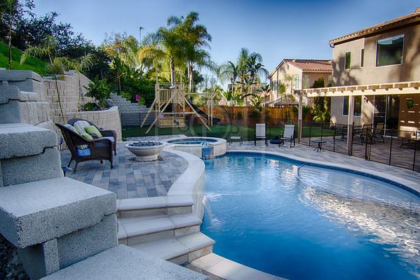 Shelly Residence - Pool & Landscape Design