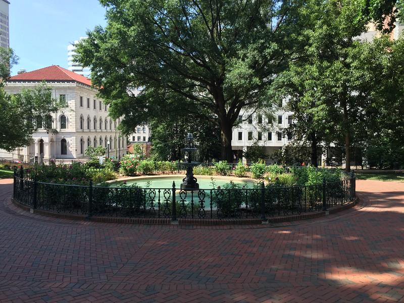 Virginia State Capitol Square.