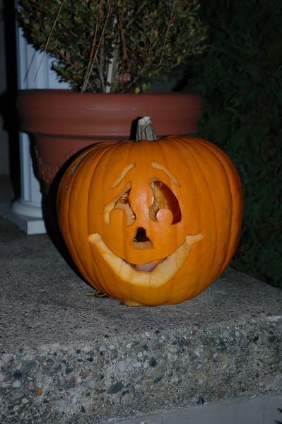 Will's Pumpkin.JPG