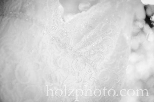 Kara & Darren B/W Wedding Photos
