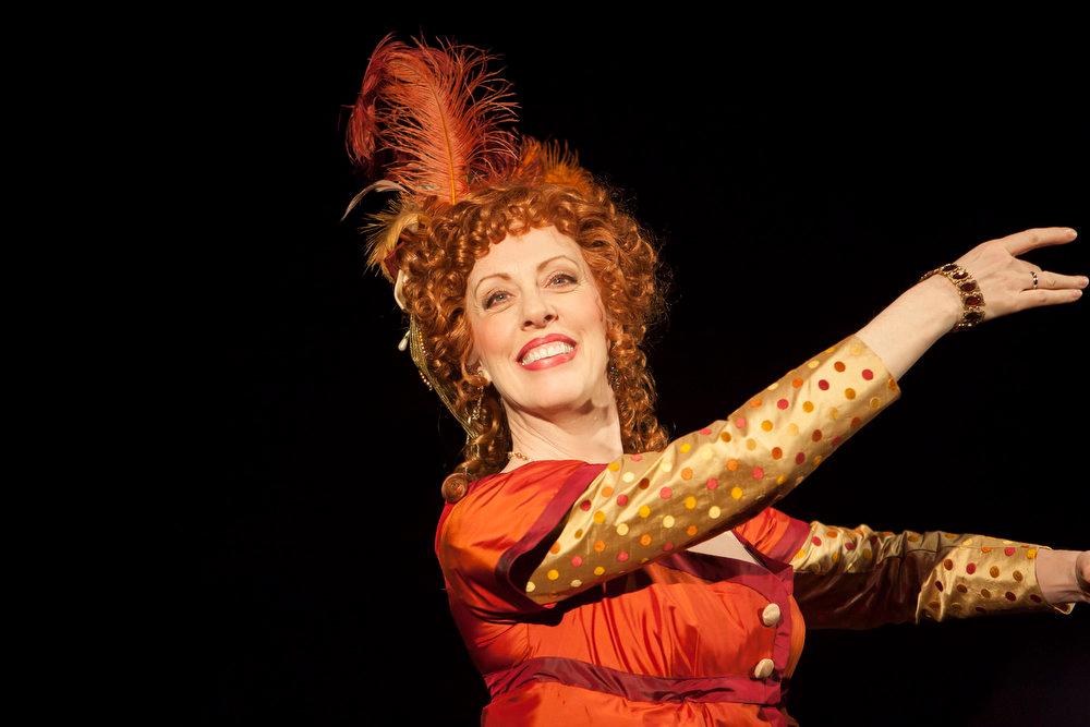 ". Ruth Gottschall in the Denver Center Theatre Company\'s world premiere of \""Sense & Sensibility The Musical.\""   Photo by Jennifer M. Koskinen"