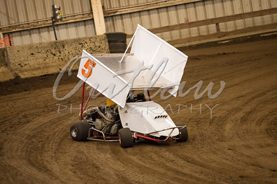 Outlaw Karts - River Arena Speedway - Dec 1, 2012