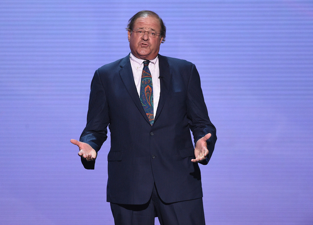 . Chris Berman appears at the ESPY Awards at Microsoft Theater on Wednesday, July 18, 2018, in Los Angeles. (Photo by Phil McCarten/Invision/AP)