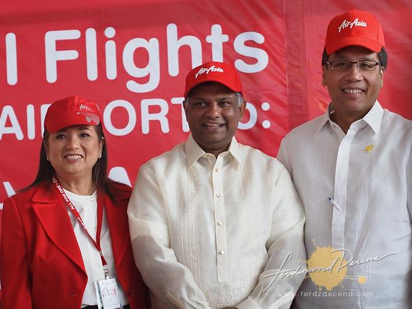 AirAsiaPH Davao Inaugural 2012