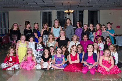 Girl Scout's Father Daughter Dance 2014