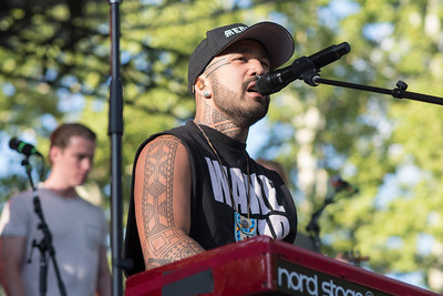 Nahko and Medicine for the People @ Central Park SummerStage, Night 1
