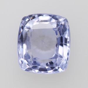 2.59 Post-consumer sapphire, light violet cushion (PCS-1227)