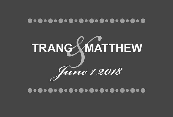 Trang & Matthew 2018
