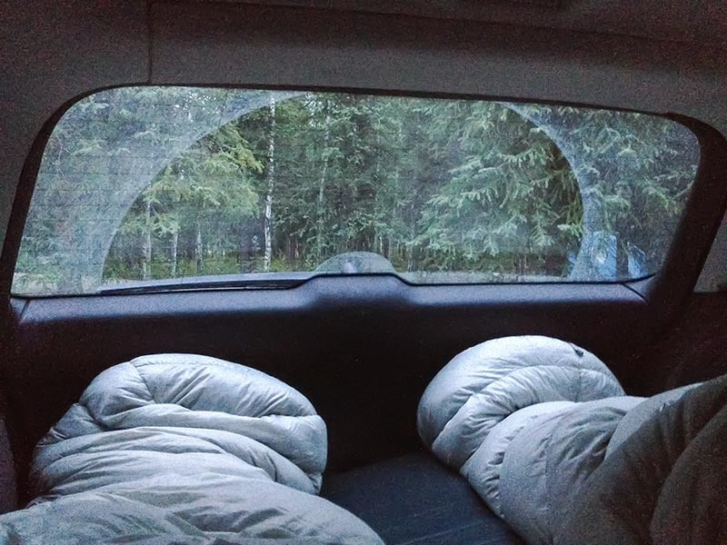 Car Camping in our Audi A4 in Denali National Park, Alaska