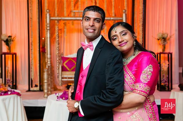 Vidhi and Ravi's Wedding Reception