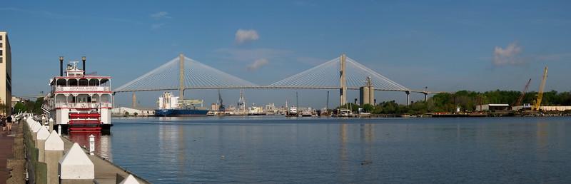 Savannah - Riverfront Panorama