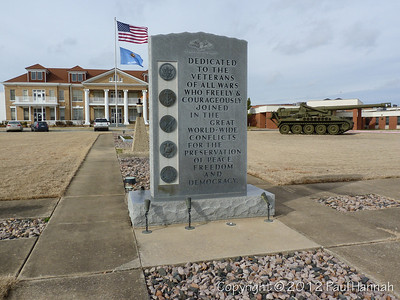 Oklahoma VFW, American Legion, Veterans Parks, Monument Vehicles