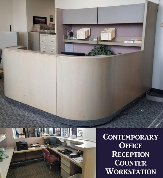 Contemporary Reception Workstation