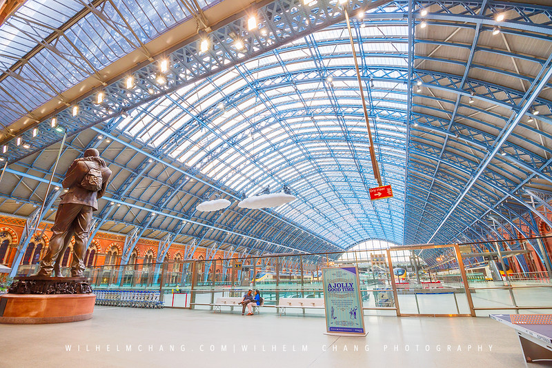 Saint Pancras International -Platform