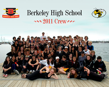 Berkeley High Crew - 2011 seniors