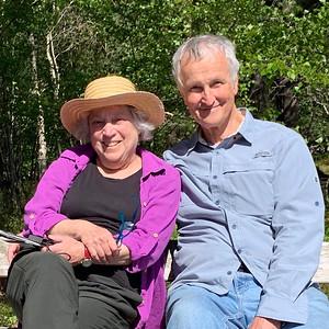 Henrietta Davis and Richard Bock