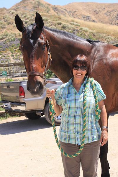 Margie and Barbara visit Zack!