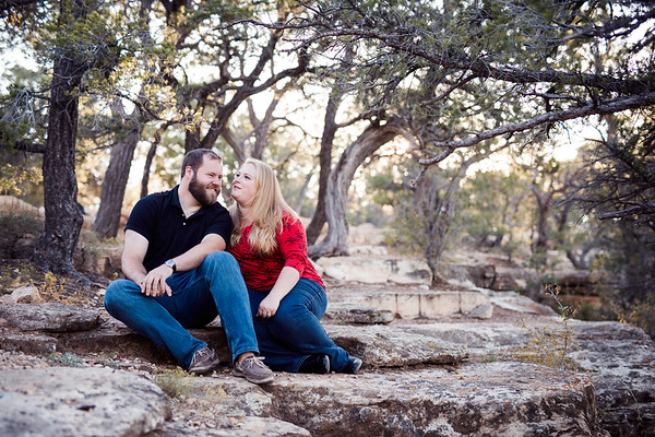 Lauren and Sam | Grand Canyon Engagement