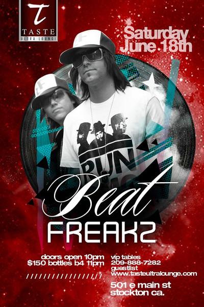 Beat Freakz @ Taste Ultra Lounge 6.18.11