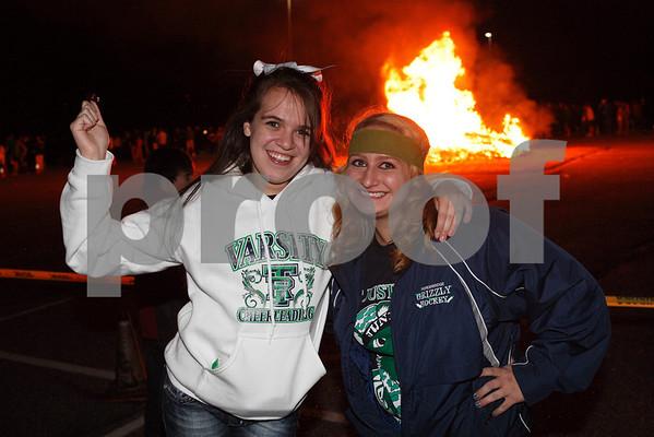 2011 TRHS Home Bonfire